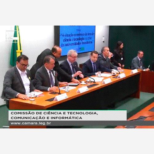 Audiência no Congresso Nacional sobre as Universidades Públicas