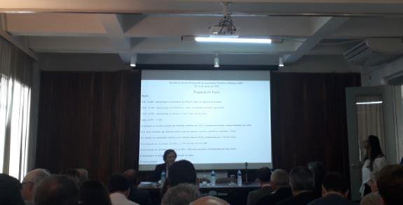 SBMO na reunião do Fórum Permanente das Sociedades Científicas