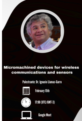 Palestra Convidada: Micromachined devices for wireless communications and sensors